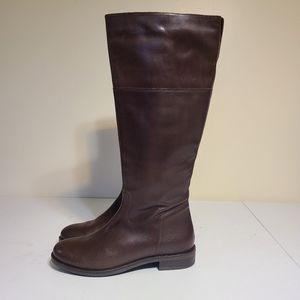 Italian Shoemaker leather winter boots sz 8.5 [G7]